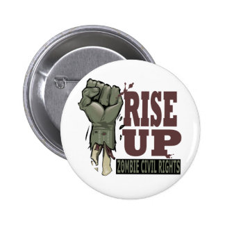 Zombie Civil Rights 6 Cm Round Badge