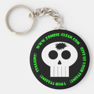 Zombie-Clean Keychain