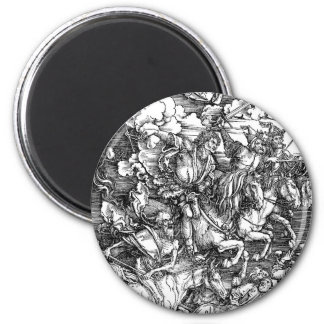 zombie-clipart-3 6 cm round magnet