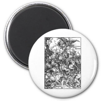 zombie-clipart-3 6 cm round magnet