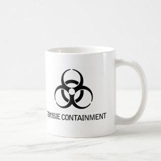 Zombie Containment Coffee Mugs