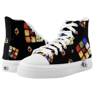 Zombie Cool Cube Black Hightops
