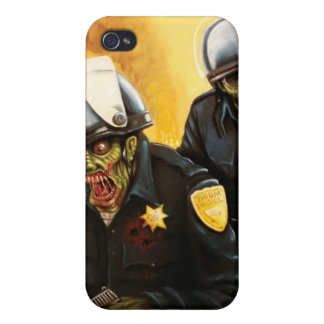 zombie-cops case for iPhone 4