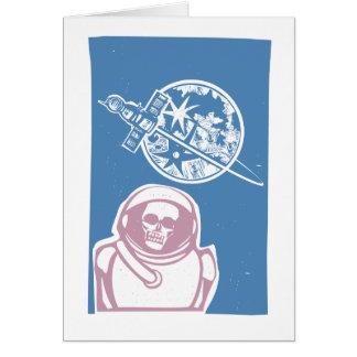 Zombie Cosmonaut Card