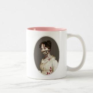 Zombie Cover Two-Tone Coffee Mug