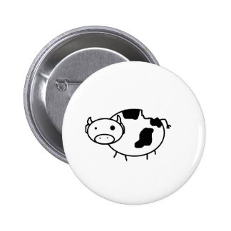 Zombie Cow Button