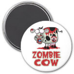 Zombie Cow Refrigerator Magnets