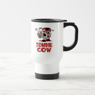 Zombie Cow Stainless Steel Travel Mug