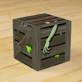 Zombie Crate Party Favour Boxes