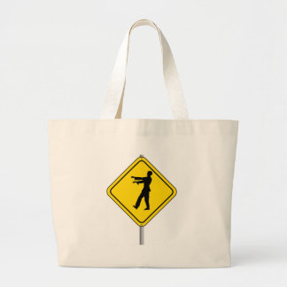Zombie Crossing Canvas Bag