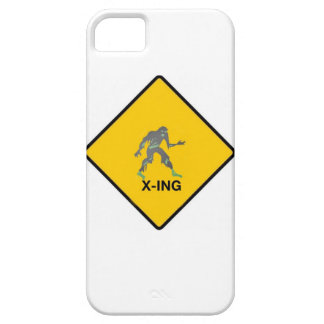 Zombie crossing iPhone 5 cover