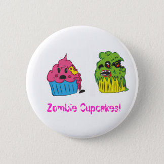 Zombie Cupcake Badge