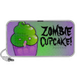 Zombie Cupcake Laptop Speakers