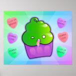 Zombie Cupcake Print