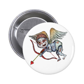Zombie Cupid Pinback Button