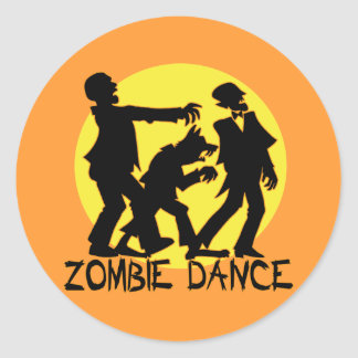 Zombie Dance Stickers/Envelope Seals