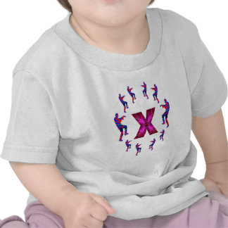 ZOMBIE Dancing with Alphabets : A to Z T-shirts