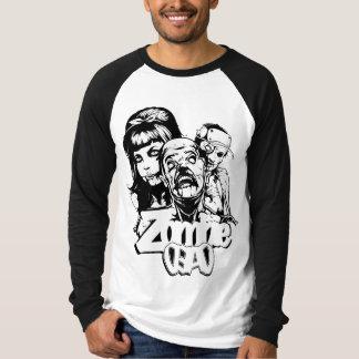 Zombie Dead Raglan T-shirt