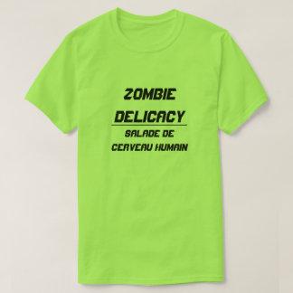 Zombie Delicacy Human Brain Salad T-Shirt