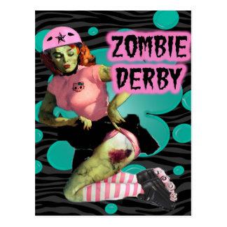Zombie Derby Postcard