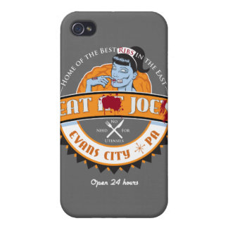 Zombie diner logo for your iPhone iPhone 4/4S Case
