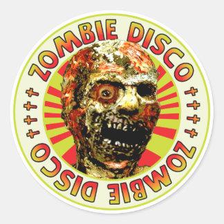 Zombie Disco Sticker