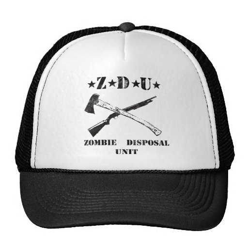 Zombie Disposal Hat