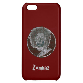 Zombie Distressed Looking Graphic iPhone 5C Cases