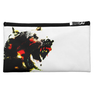 Zombie Dog Cosmetics Bag Cosmetic Bags