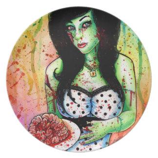 Zombie Doll Tattoo Flash Plates