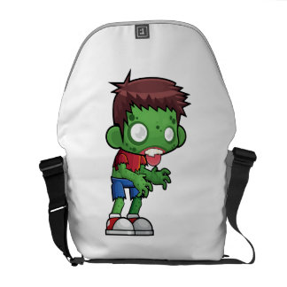 Zombie Dude Messenger Bag