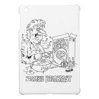 Zombie Eats Raisin Brain Cereal For Breakfast Case For The iPad Mini