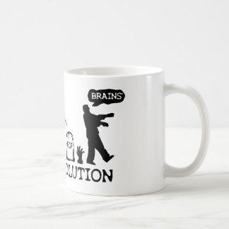 Zombie Evolution Coffee Mug