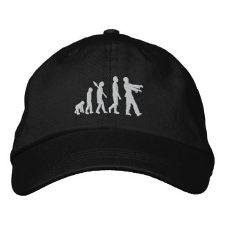 Zombie Evolution Embroidered Baseball Cap