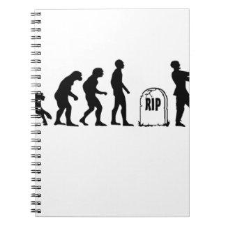 ZOMBIE EVOLUTION NOTEBOOKS