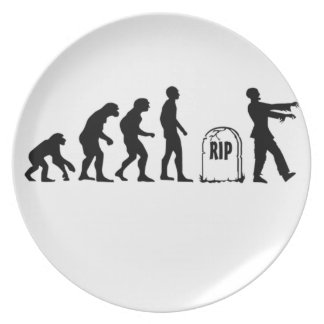 ZOMBIE EVOLUTION PLATE