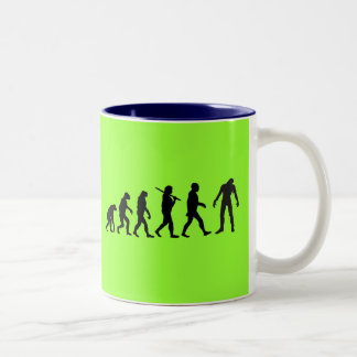 Zombie Evolution T-shirt Design Coffee Mug
