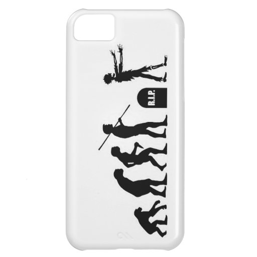 Zombie Evolutionary evolution chart funny science iPhone 5C Cover