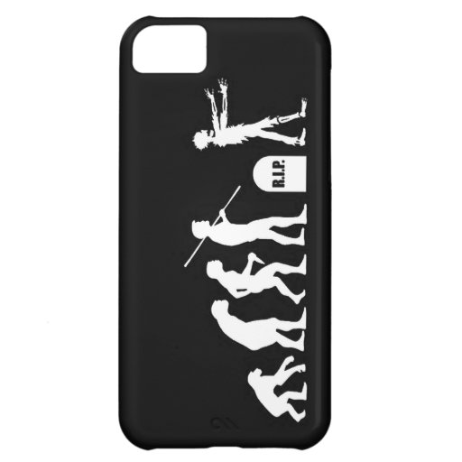 Zombie Evolutionary evolution chart funny science Cover For iPhone 5C