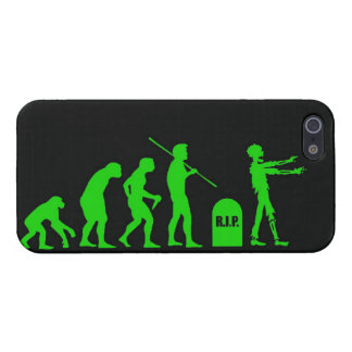 Zombie Evolutionary evolution chart funny science iPhone 5 Cases