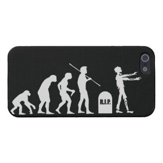 Zombie Evolutionary evolution chart funny science Cover For iPhone 5