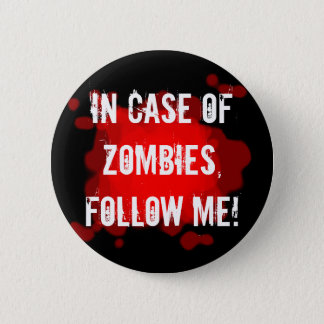 Zombie Expert (black) 6 Cm Round Badge