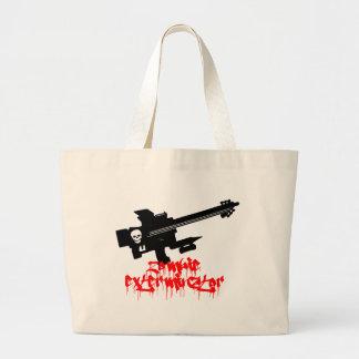 Zombie Exterminator Tote Bags