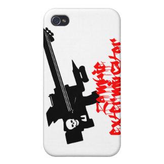 Zombie Exterminator iPhone 4 Cover