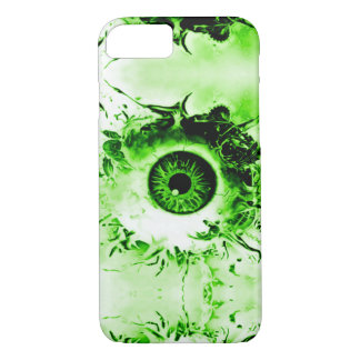 Zombie Eye Watcher Horror Show iPhone 7 Case