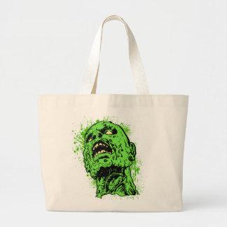 Zombie face bag