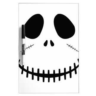 Zombie Face Dry Erase Board