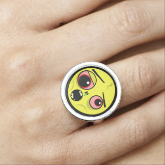 Zombie Face Ring
