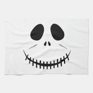 Zombie Face Tea Towel