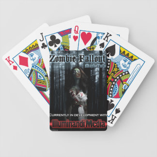 Zombie Fallout Bicycle Playing Cards